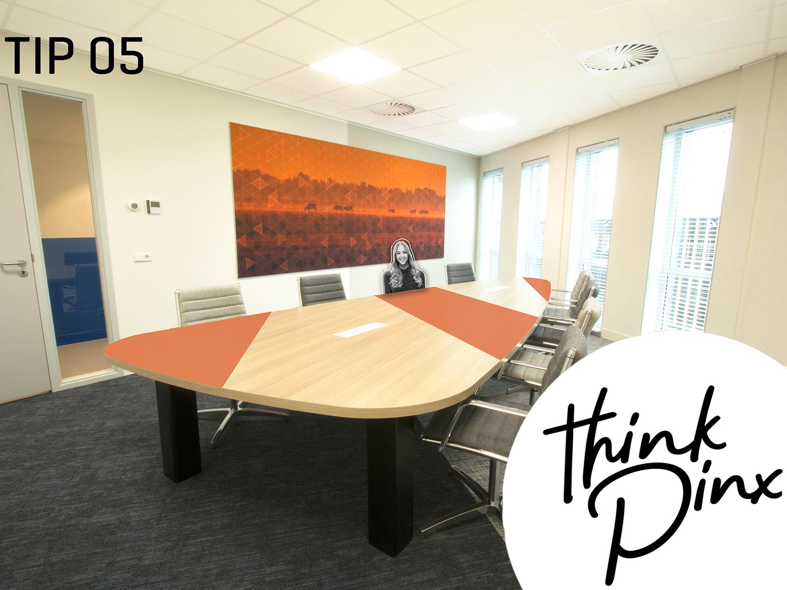 TIP 5: Het nieuwe vergaderen op kantoor